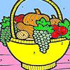 Omalovánky - Ovocný koš…