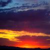 Puzzle - Západ slunce v A…