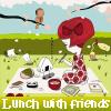 Oběd s přáteli