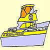 Omalovánky - Loď
