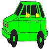 Omalovánky - autíčko