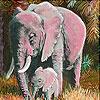 Puzzle - Ohromný slon