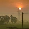 Puzzle - Západ slunce na …