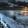 Puzzle - Západ slunce nad…