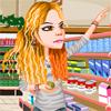 Nakupování v supermarketu…
